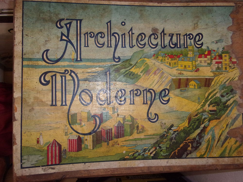 Boîte de construction ancienne  60 Saint-Maurice-Montcouronne (91)