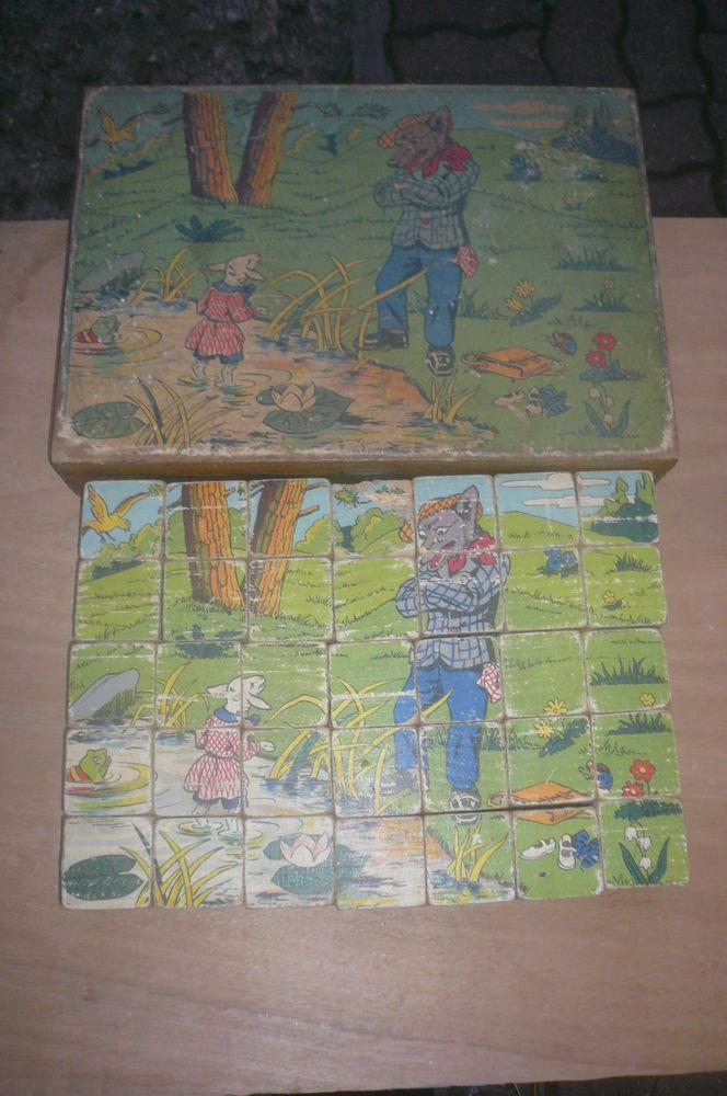 Boîte de cubes en bois 20 Houilles (78)
