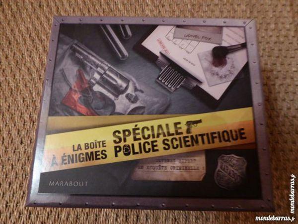 Boite à énigmes spéciale police scientifique neuf 1 Saint-Brieuc (22)