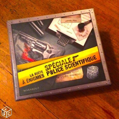 La boîte à énigmes - Spéciale Police Scientifique 10 Aubervilliers (93)