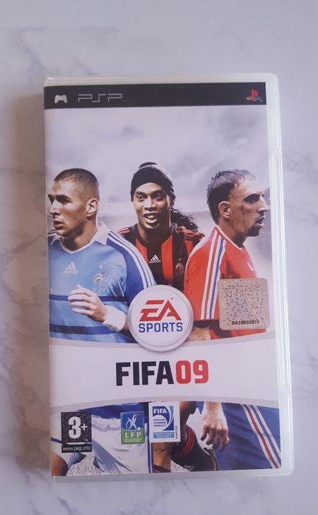 Boite Fifa 09 - PSP 3 Beauchamp (95)
