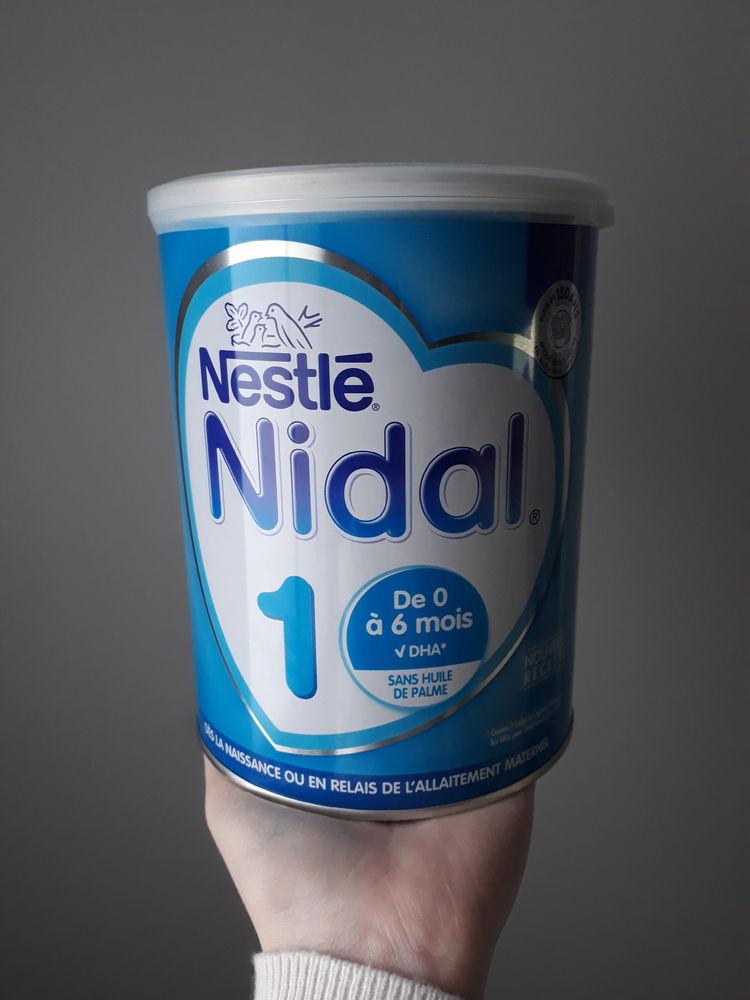 Boîte de lait NIDAL HA NESTLÉ 1er age (0-6 mois) 12 Desvres (62)