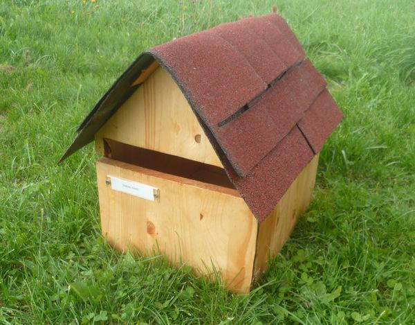 Boite Aux Lettres En Bois Chalet : Boite aux lettres maison en bois chalet NEUVE Jardin