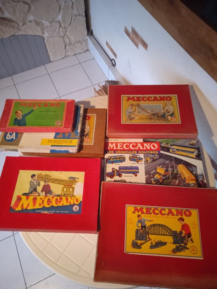 boite mecanno ancienne 0 Huisseau-en-Beauce (41)