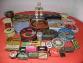 Lot de boîte métal ancienne & récente  35 Morestel (38)