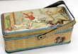 Boite panier pour goûter tôle 1930 chien chat souris Issy-les-Moulineaux (92)