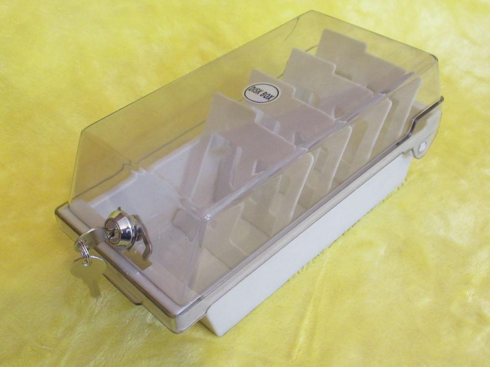 Boîte de rangement à disquettes - fermeture à clé 5 Livry-Gargan (93)