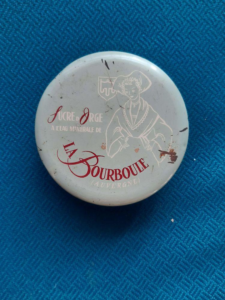 Boite vide  Sucre d'orge La Bourboule  5 Nieuil-l'Espoir (86)