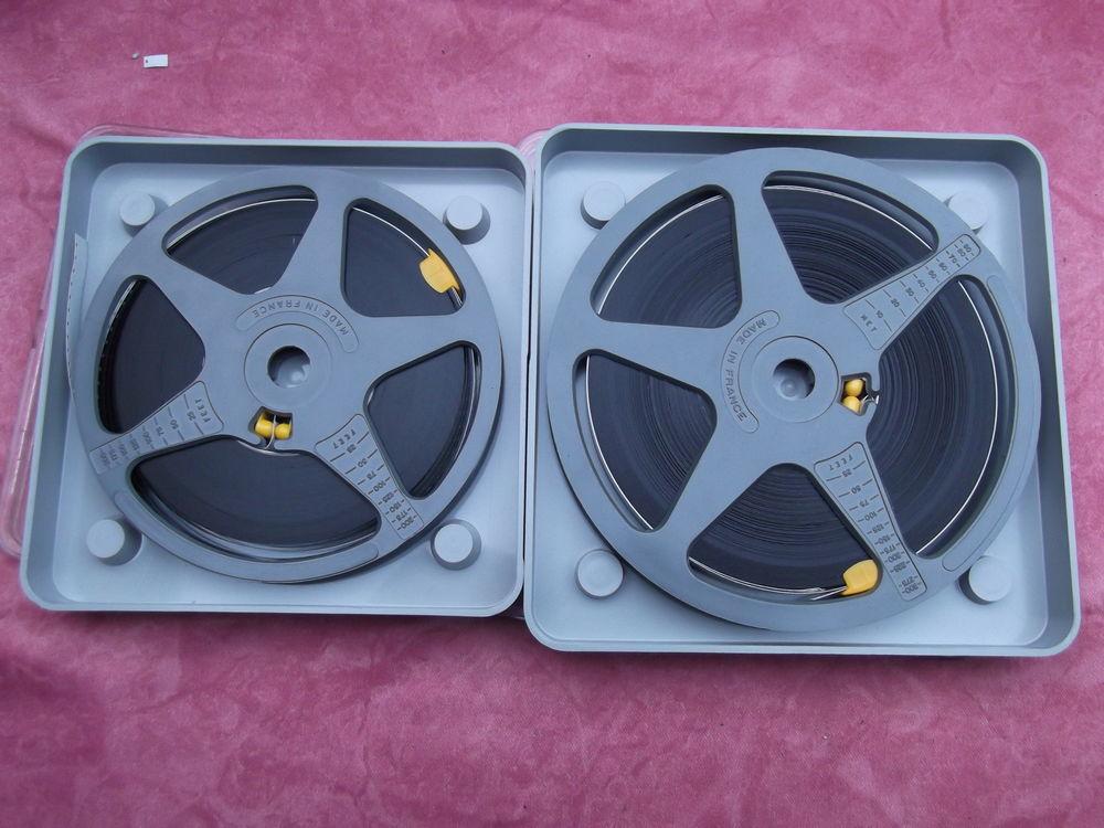boites et bobines de films super 8  0 Saint-Éloi (58)