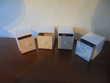 Lot de 4 boites à décorer 2 (21) Bricolage