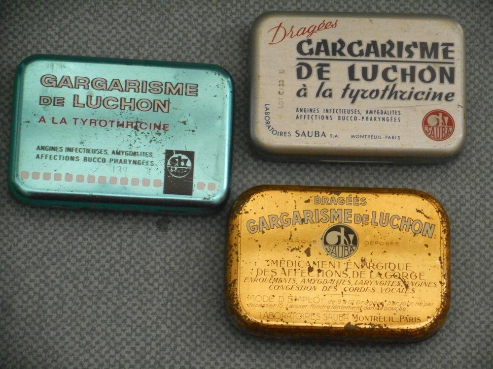 Lot de 3 boites de  Gargarisme de Luchon  12 Nieuil-l'Espoir (86)