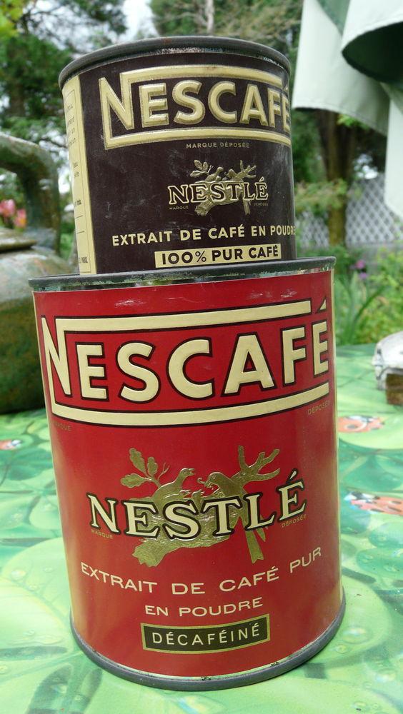 Boites Nestlé Nescafé années 50- 60 15 Châtellerault (86)