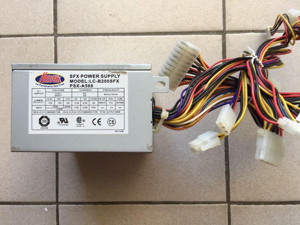 Boîtier Alim. Électrique Neuf U.C pour PC (marque EDEN) 7 Canet-en-Roussillon (66)