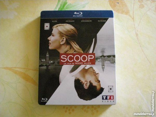 Blu Ray boitier métal  « Scoop » 17 Saleilles (66)