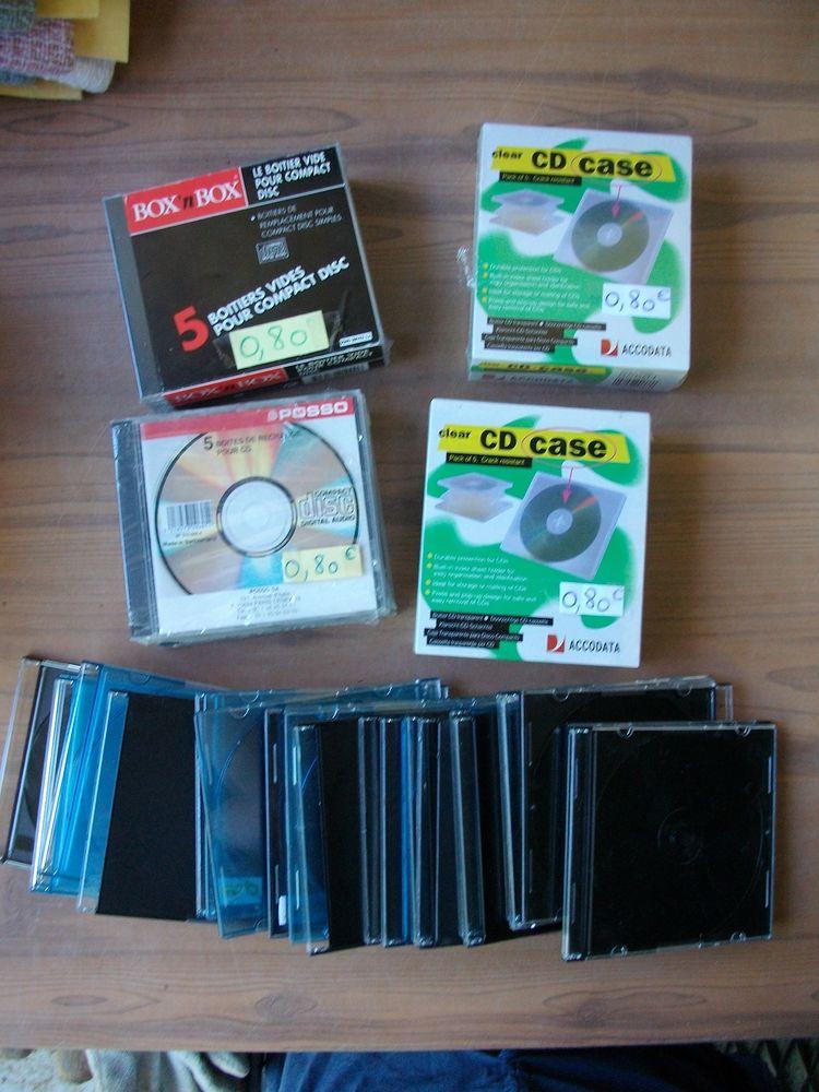 Boitiers vides de rechange pour CD et DVD 1 Bouxwiller (67)