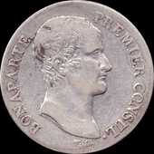 Bonaparte 5 francs an 12 H 240 Couzeix (87)