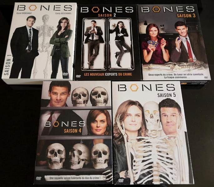 DVD - BONES saison 1 à 5 30 Garges-lès-Gonesse (95)
