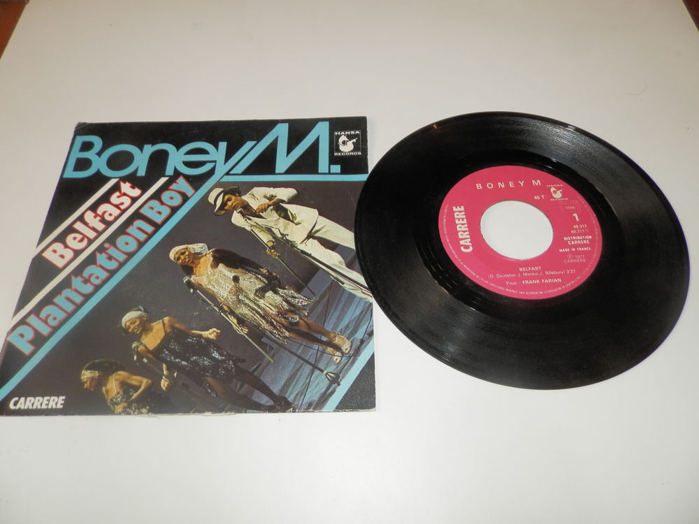 Boney M  -  Belfast/plantation boy 3 Paris 12 (75)