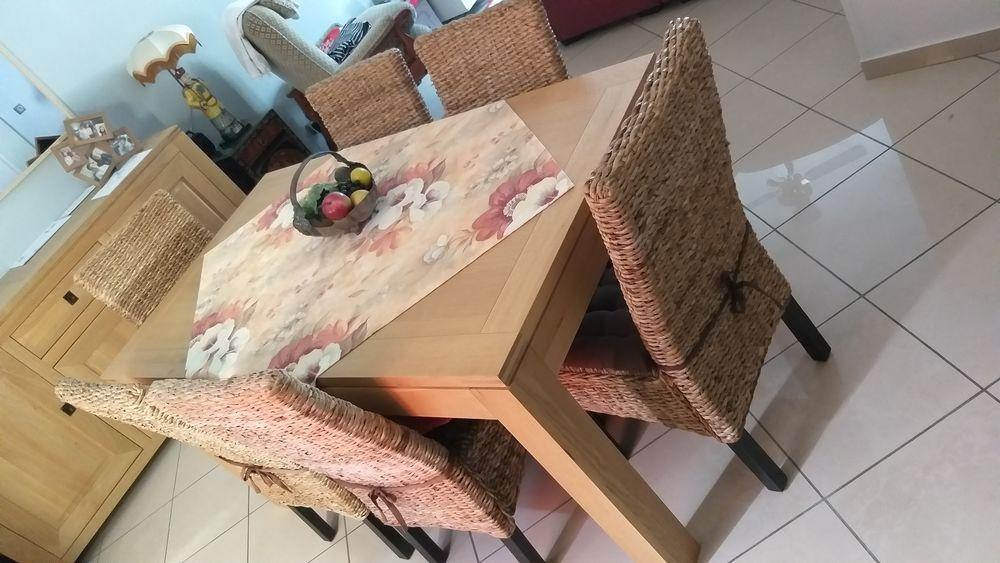 bonjour 6 belles chaises en bois en parfait état. 290 Champagne-sur-Oise (95)
