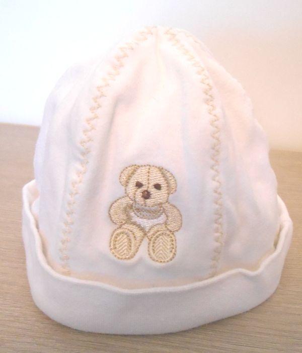 Bonnet blanc 12-18 mois 46-47 cm  5 Mâcon (71)