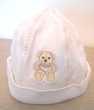 Bonnet blanc 12-18 mois 46-47 cm
