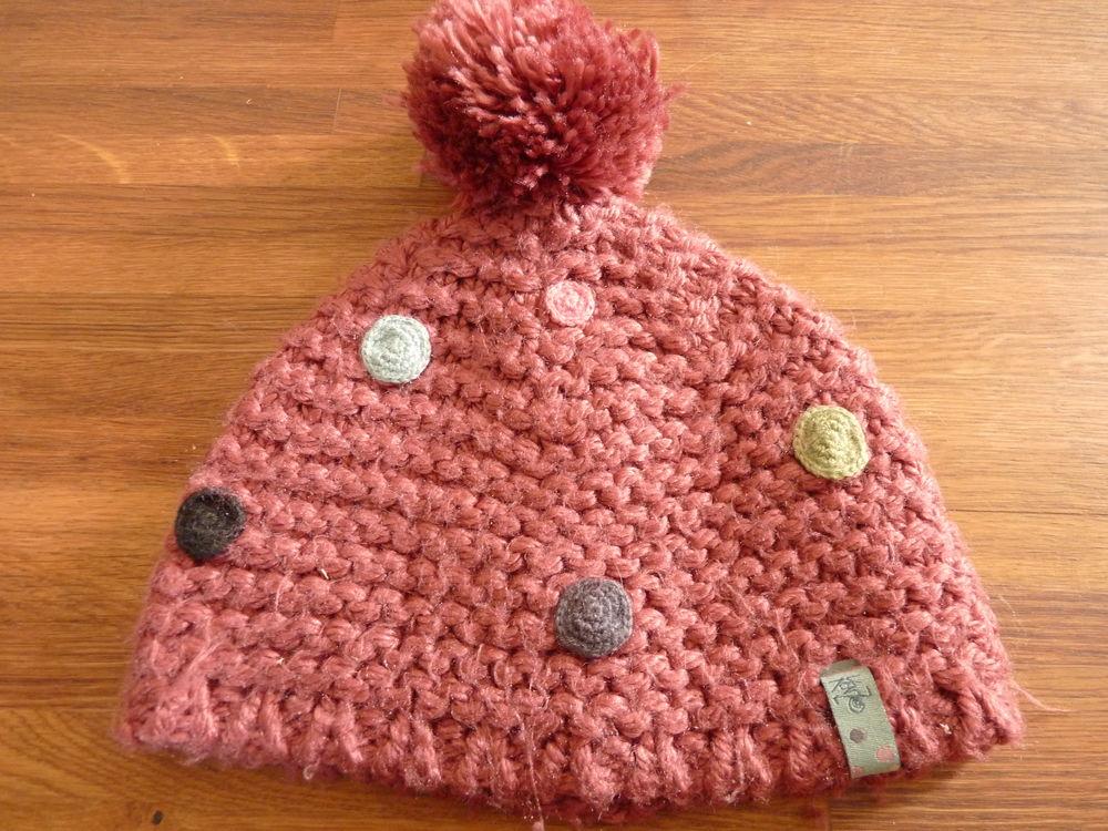 bonnet fille kenzo rose taille 2 tbe 10 Brienne-le-Château (10)