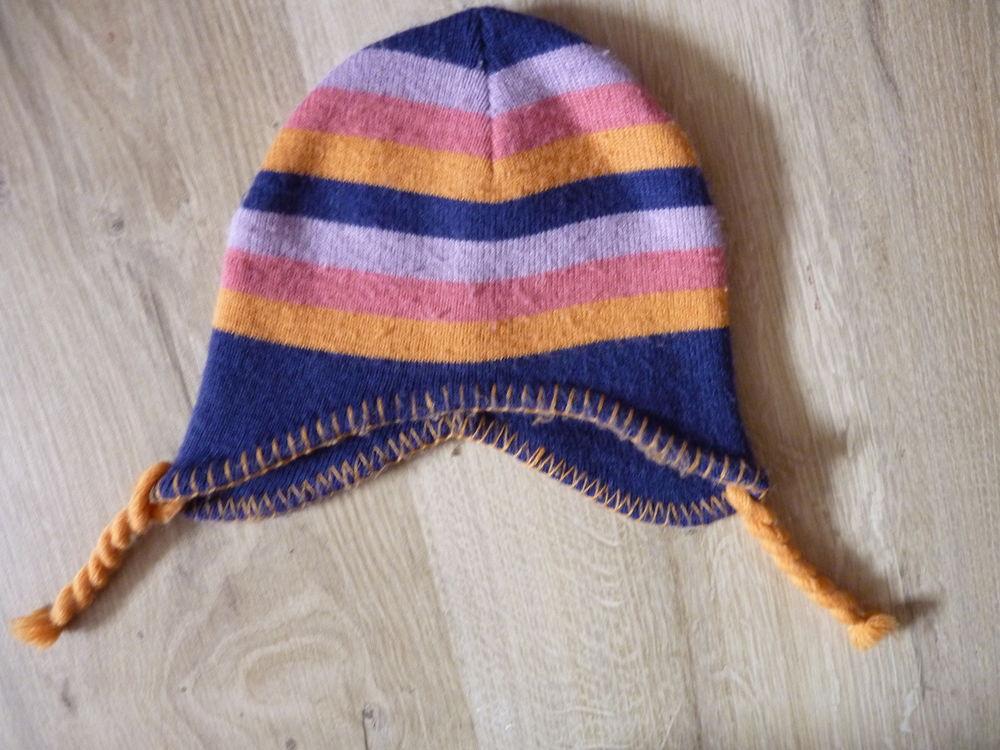 bonnet fille 4/8 ans multicolore TBE 1 Brienne-le-Château (10)