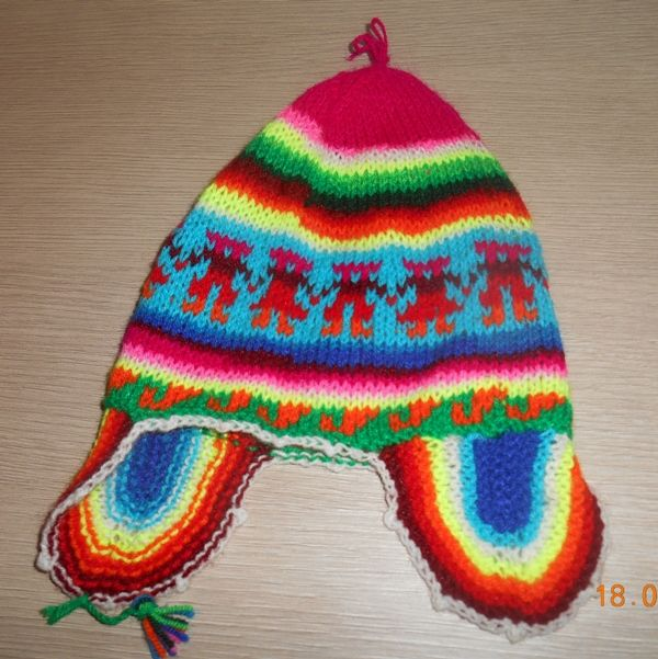 718a74de166 Bonnet p eacute ruvien 44-48 cm 6-12 mois Vêtements enfants
