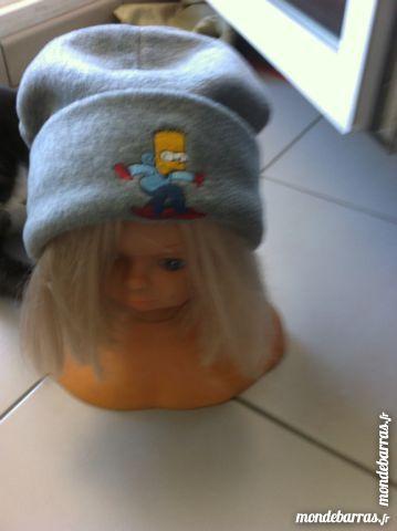 G/A Bonnet Simspons BART*polaire Neuve T: 52 Vêtements enfants