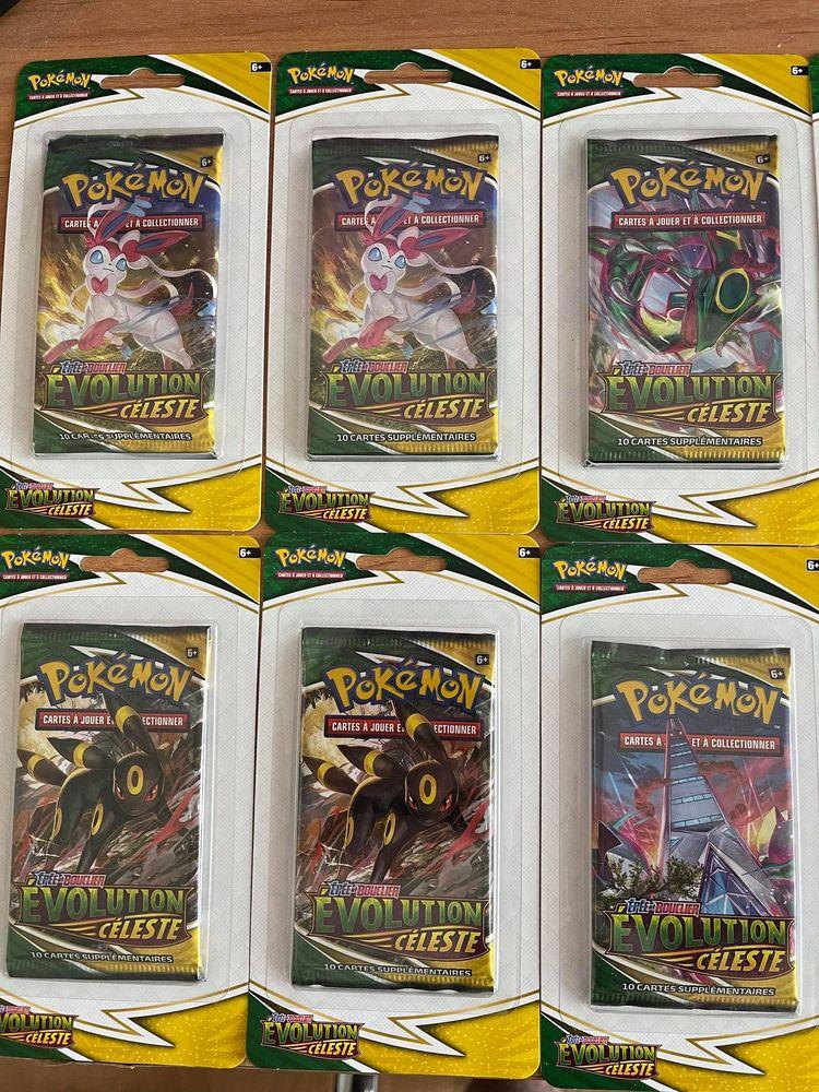 Lot de 10 booster blister scellé carte pokemon original eb07 85 Les Lilas (93)