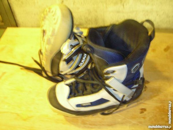 Boots Chaussures surf snowboard SHIMANO 12 Chamonix-Mont-Blanc (74)