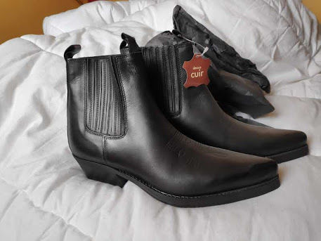 Boots cuir homme 44 40 La Fare-les-Oliviers (13)