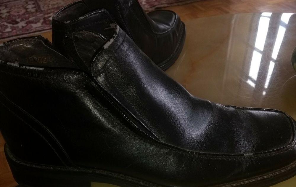 Boots cuir noires 15 Paris 2 (75)