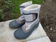 Boots de neige grise taille 40-41