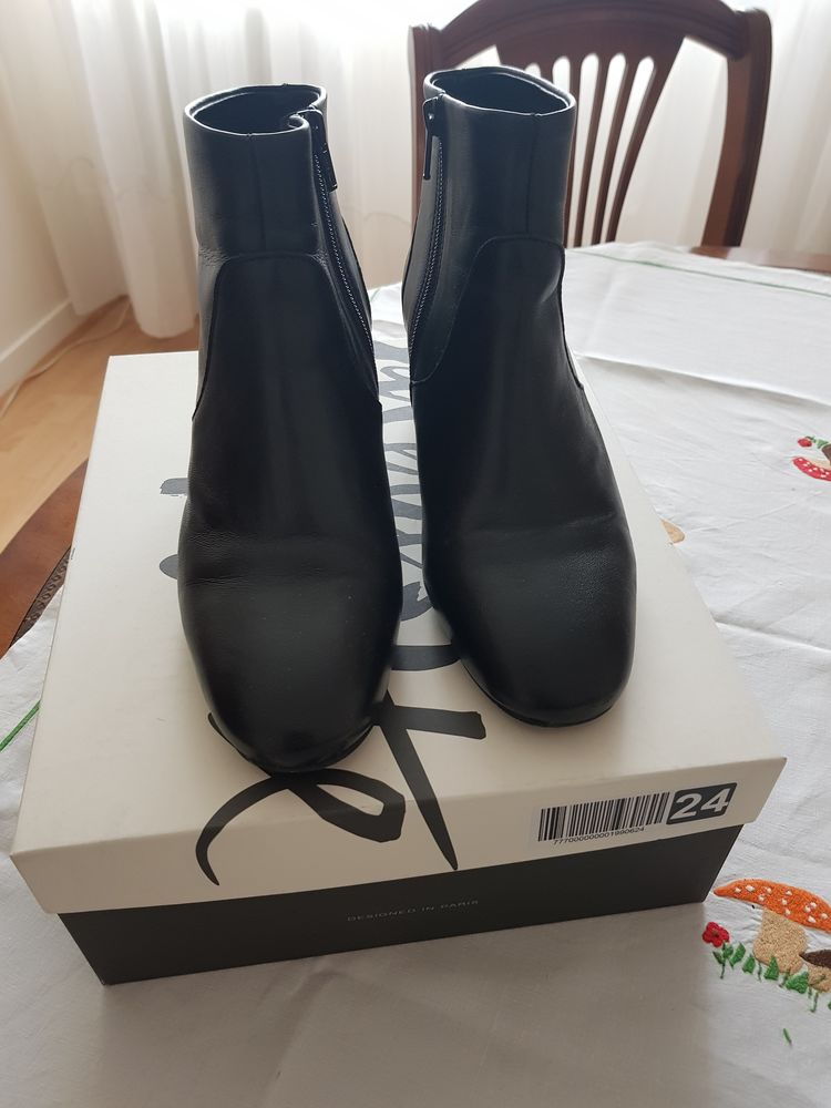 Boots noires 50 Paris 19 (75)