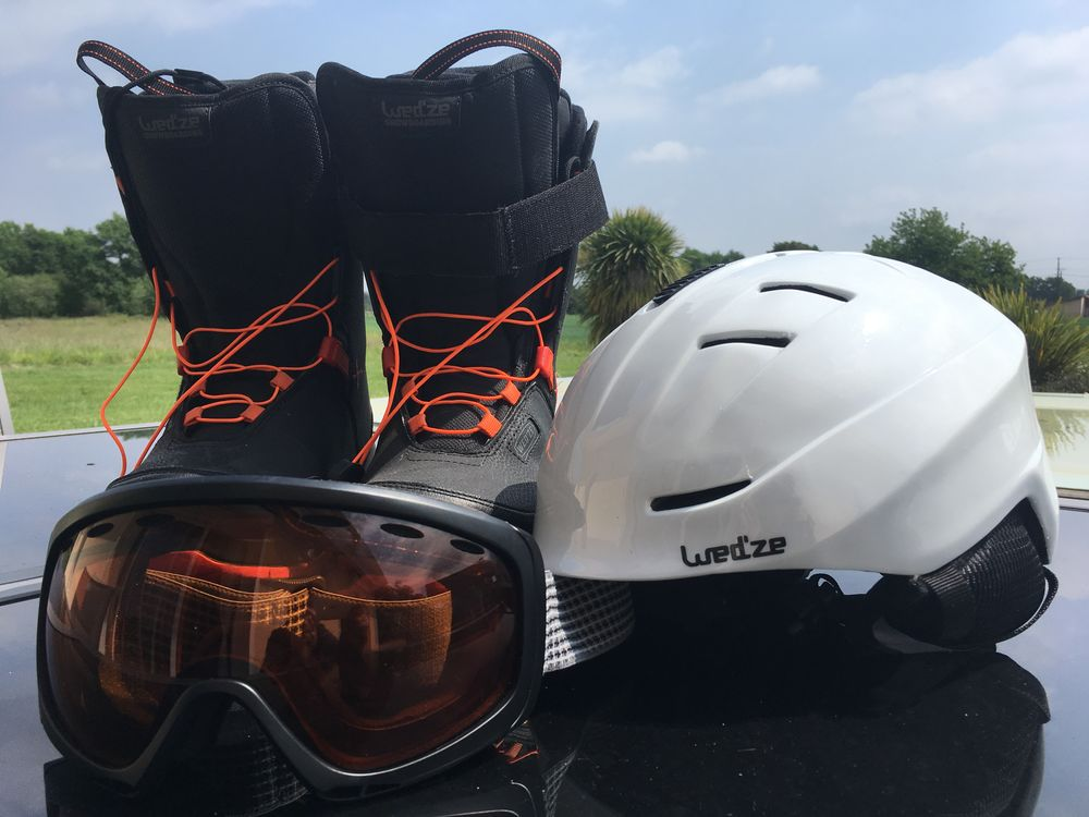 Boots snowboard et casque 175 Bascons (40)