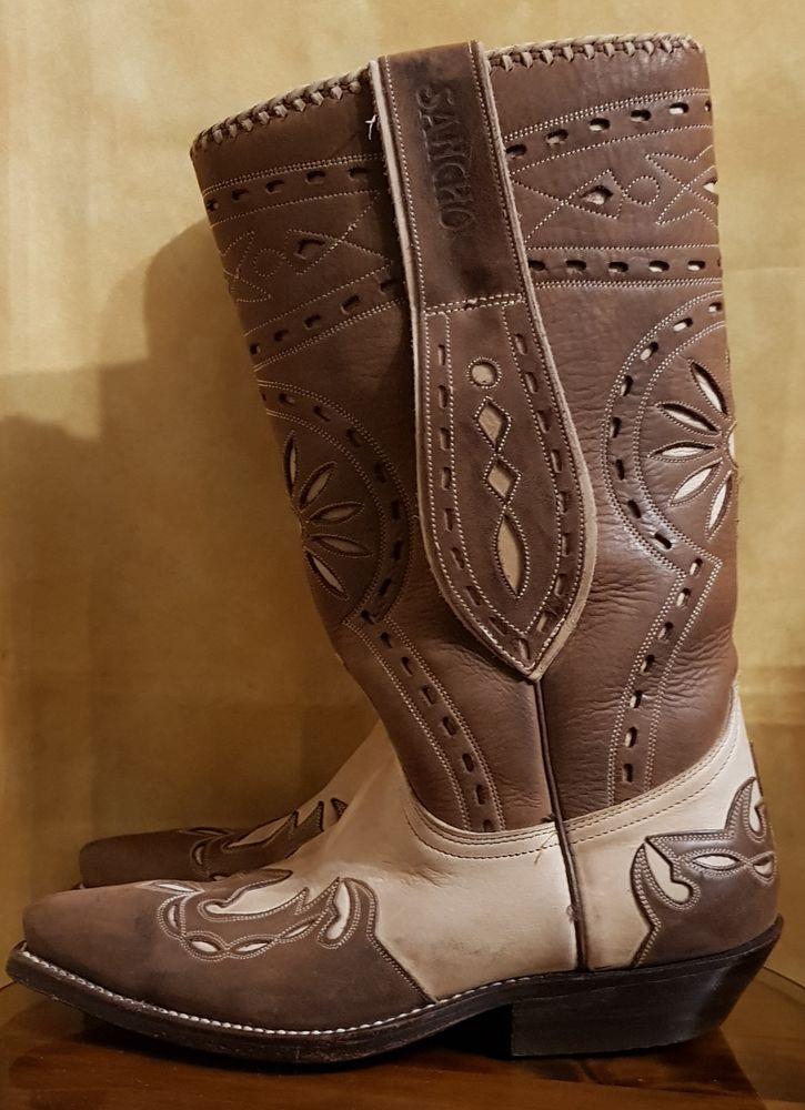 Boots western femme SANCHO 36-37 - excellent état 120 Mont-de-Marsan (40)