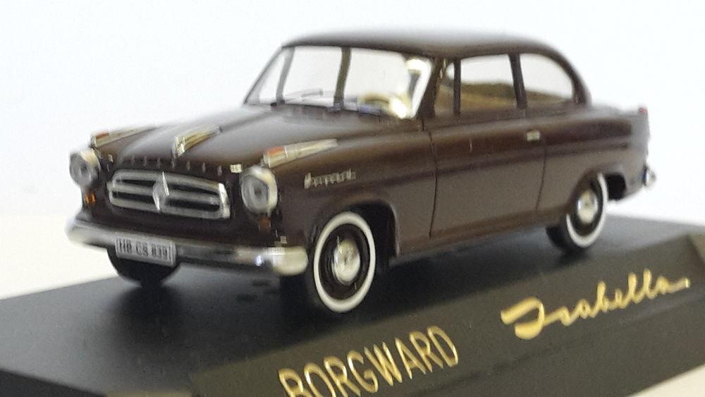 Borgward Isabella TS berline 1956 55 Follainville-Dennemont (78)