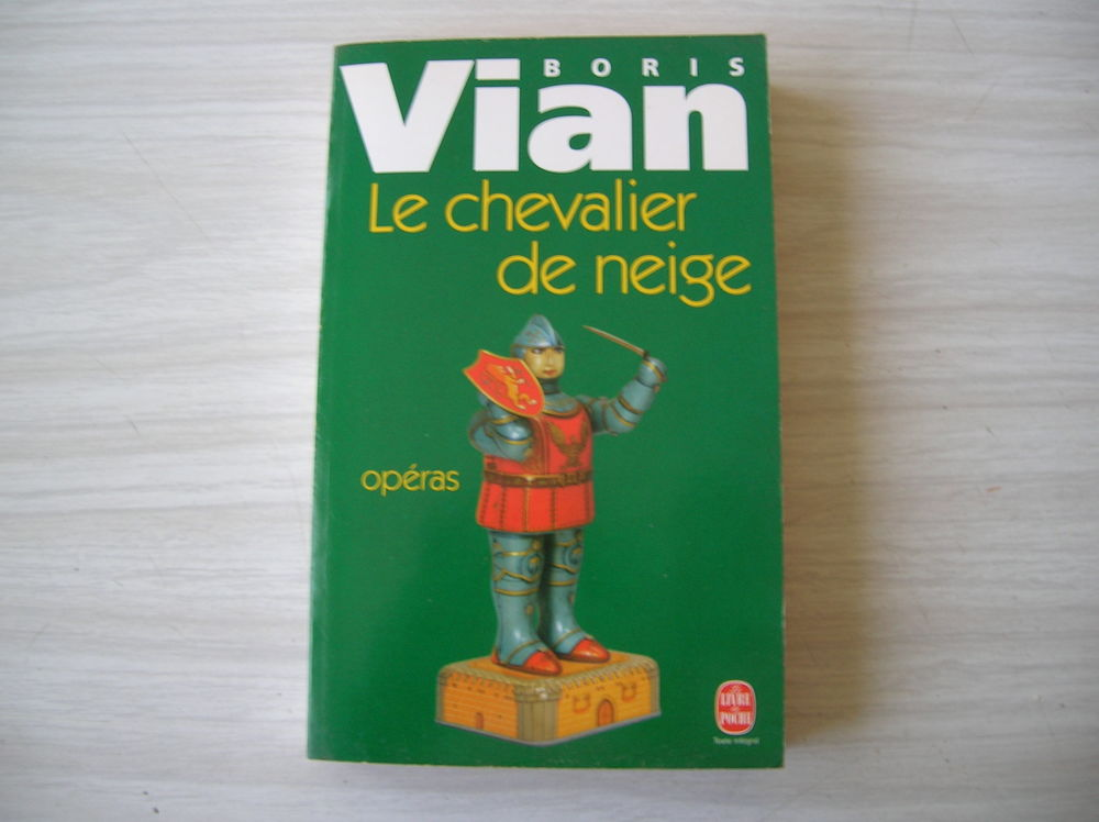 BORIS VIAN Le Chevalier De Neige - Suivi De Opéras  7 Nantes (44)