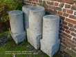 4 bornes anciennes en granit 400 Auffay (76)