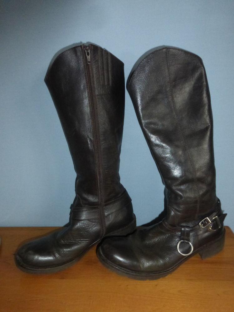 Achetez botte cavaliere cuir quasi neuf, annonce vente à Doussard ... 408c40daa38e