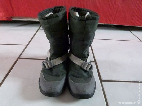 Botte Randonn\u0026eacute;e gris Quechua Arpenaz 500 taille 33 Chaussures