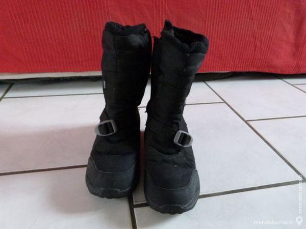 Botte Randonn\u0026eacute;e Quechua Arpenaz 500 noir taille 38 Chaussures