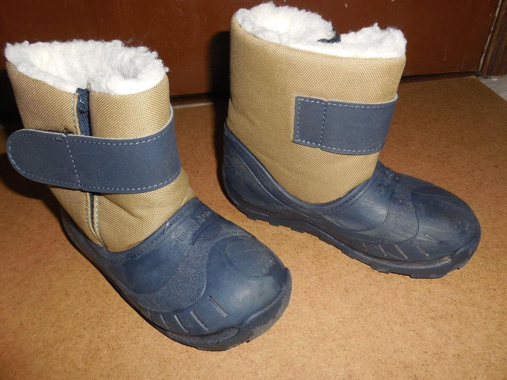 bottes après ski  décatlhon  bibou bébé beige26/27 7 Pontault-Combault (77)