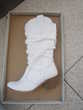 Bottes blanches Chaussures