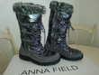 Bottes boots après ski ANNA FIELD taille 37 gris