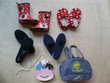 bottes, chaussons, sacs, - 23 et 36 - zoe