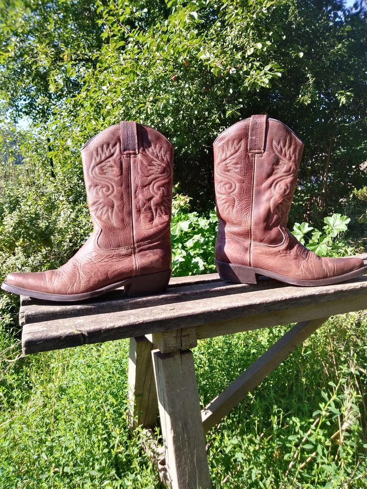 Bottes cowboy santiag cuir Brookers 50 Vorey (43)