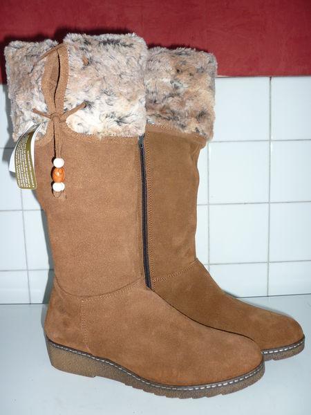 bottes en cuir fourées 15 Saint-Dizier (52)
