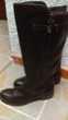 Bottes femme cuir noir 39,30 euros. Chaussures